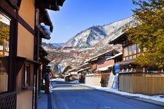 Ogimachi Village in Shirakawago Stock Photography