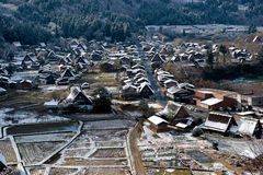 Ogimachi Village Royalty Free Stock Images