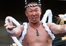 Ogion festival participant Royalty Free Stock Photos