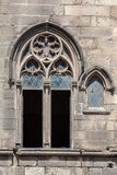 Ogival Gothic Window Barcelona Royalty Free Stock Image