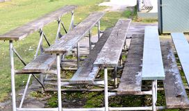Oglądać ławkę Zdjęcia Royalty Free