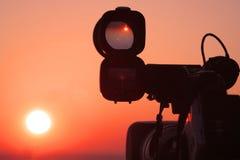 oglądanie słońca Zdjęcia Stock