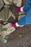 Ogląda twój kroka! Zdjęcia Royalty Free