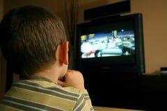 oglądanie telewizji Obraz Stock