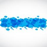 Ogólnospołecznych środków mowy grupowe chmury Zdjęcie Royalty Free