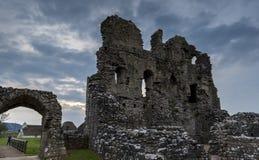 Ogmore城堡Glamorgan英国废墟  图库摄影