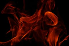 ogniści płomieni Zdjęcie Royalty Free