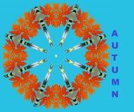 Ogni autunno di anno viene a noi illustrazione vettoriale