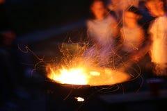 ognisko Zdjęcie Royalty Free