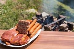 Ognisko dla wieśniaka BBQ Zdjęcie Stock