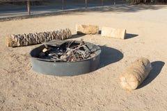 ognisko Ognisko w naturze Zdjęcia Royalty Free