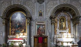 Ognissanti church, Florence, Italy Royalty Free Stock Photos