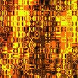 Ogniste szkło płytki royalty ilustracja