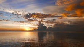 ognisty wschód słońca zbiory wideo