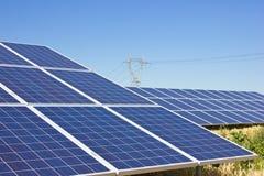 Ogniwa Słoneczne Obrazy Stock