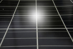 Ogniwo słoneczne, energii słonecznej fotografii voltaic panelu elektrycznej energii odnawialny słońce Zdjęcie Stock