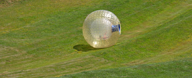 OGO Zorbing Rotorua - New Zealand Stock Photography