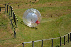 OGO Zorbing Rotorua - New Zealand Royalty Free Stock Image