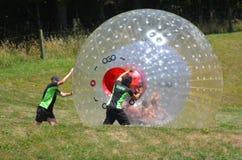 OGO Zorbing Rotorua - Nouvelle-Zélande Image stock