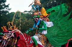 Ogoh-Ogoh αγάλματα, Μπαλί, Ινδονησία Στοκ Φωτογραφία