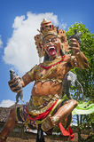 Ogoh-ogoh in Bali, Indonesia. Ogoh-ogoh are statues built for the Ngrupuk parade, which takes place on the eve of Nyepi day in Bali, Indonesia. A Hindu holiday Royalty Free Stock Photo