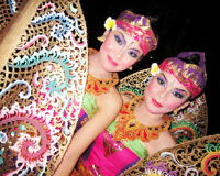 Ogoh Ogoh Denpasar, Bali, Indonésia Foto de Stock