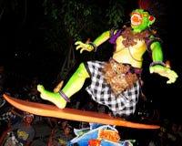 Ogoh Ogoh Denpasar, Bali, Indonesia Immagini Stock Libere da Diritti