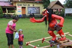 Ogoh-Ogoh monsters at Ubud, Bali Royalty Free Stock Photos