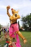 Ogoh-Ogoh monsters at Ubud, Bali Royalty Free Stock Image