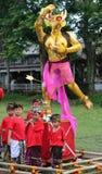 Ogoh-Ogoh monsters at Ubud, Bali Stock Image