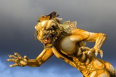 Ogoh-ogoh Statue Built For The Ngrupuk Parade, Which Takes Place On The Even Of Nyepi Day In Bali Island, Indonesia Royalty Free Stock Photo