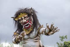 Ogoh-ogoh Statue Built For The Ngrupuk Parade, Which Takes Place On The Even Of Nyepi Day In Bali Island, Indonesia Stock Photos