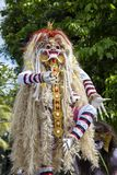 Ogoh-ogoh statue built for the Ngrupuk parade, which takes place on the even of Nyepi day in Bali island, Indonesia Royalty Free Stock Image
