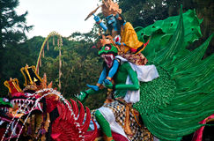 Ogoh-Ogoh Statues, Bali, Indonesia Stock Photography