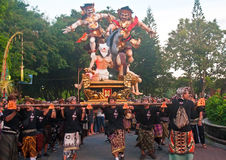 Ogoh-Ogoh Statues, Bali, Indonesia Royalty Free Stock Photography