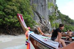 Ogon łódź Zdjęcie Royalty Free