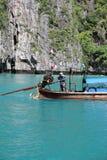 Ogon łódź Obraz Stock