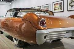 Ogon lampa klasycznego amerykańskiego usa rocznika concent samochód zdjęcie royalty free