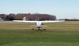 Ogon Pojedynczego silnika wsparcia samolot Obraz Stock