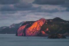 Ogono in Basque Country. Coast stock photos