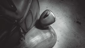 Ogonu Lekki Samochodowy Tylni widok royalty ilustracja