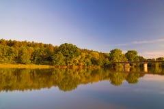 Ogosta-Fluss Lizenzfreie Stockfotos