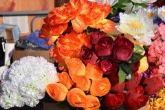 Ogródów kwiatów dziewczyny wakacyjny aromat Fotografia Royalty Free