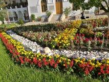 Ogród Agapia monaster, Rumunia Obrazy Stock