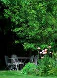 ogród anglikiem. zdjęcie stock