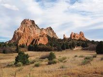 Ogród bóg w Colorado wiosnach zdjęcia stock