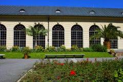 Ogród blisko Wilanow pałac, Polska obrazy stock