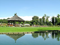 Ogród botaniczny, Augsburski, Niemcy Obraz Royalty Free