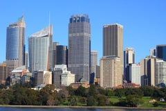 ogród botaniczny linia horyzontu Sydney Zdjęcia Royalty Free