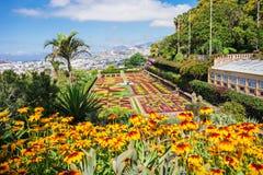 Ogród Botaniczny madera Zdjęcia Royalty Free